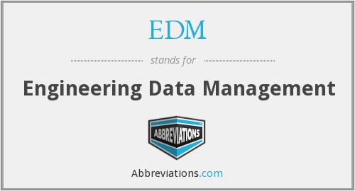 EDM - Engineering Data Management