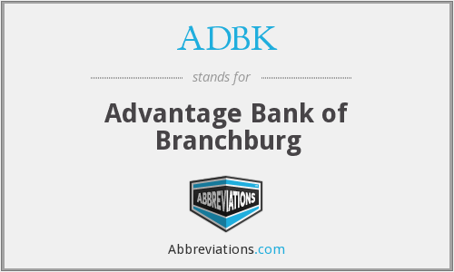 ADBK - Advantage Bank of Branchburg