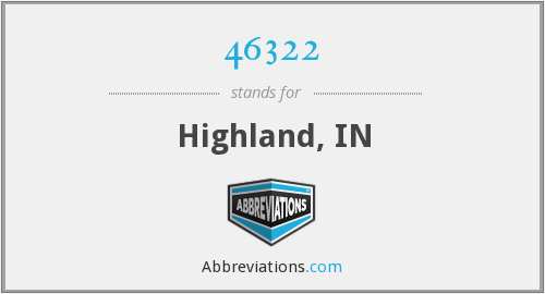 46322 - Highland, IN