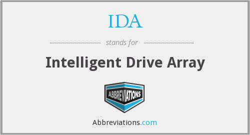 IDA - Intelligent Drive Array