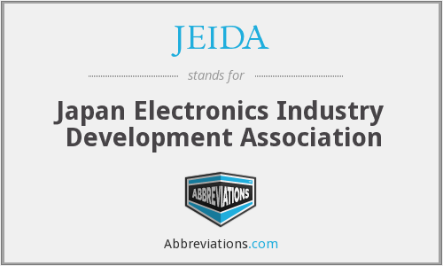 What does JEIDA stand for?