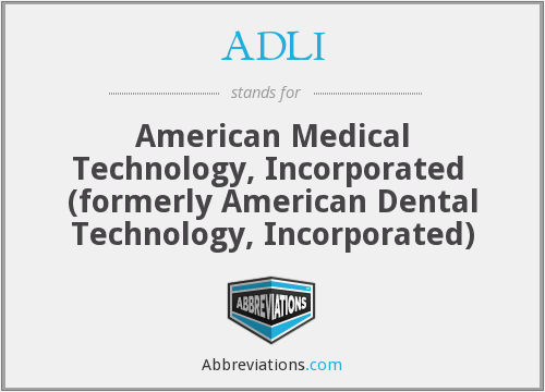 ADLI - American Dental Technology, Inc.