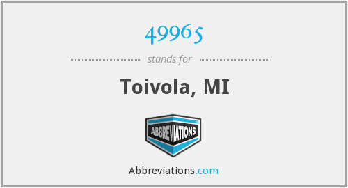 What does 49965 stand for?