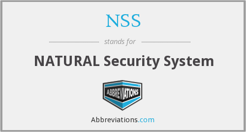 NSS - NATURAL Security System