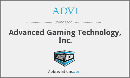 What does ADVI stand for?