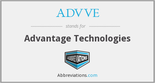 What does ADVVE stand for?