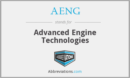 AENG - Advanced Engine Technologies