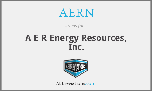 AERN - A E R Energy Resources, Inc.