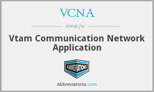 What does VCNA stand for?