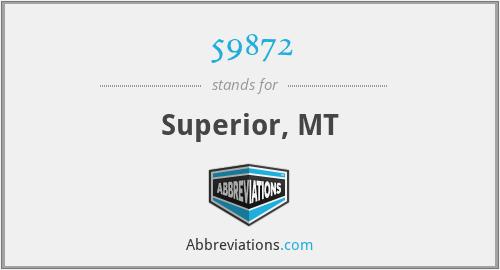 59872 - Superior, MT