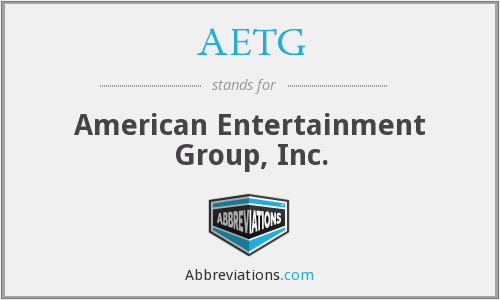 What does AETG stand for?