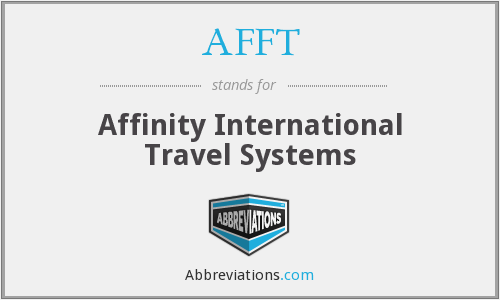 AFFT - Affinity International Travel Systems
