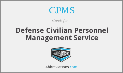 What does CPMS stand for?