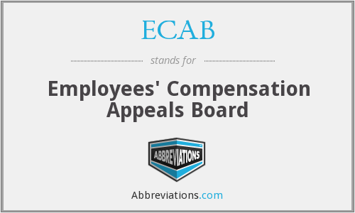 What does ECAB stand for?