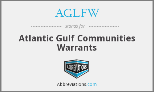 AGLFW - Atlantic Gulf Communities Warrants