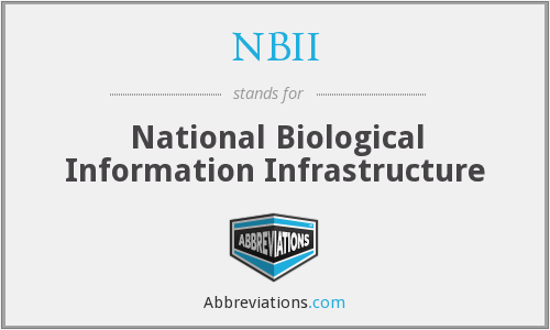 What does NBII stand for?