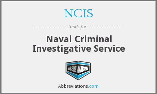What does NCIS stand for?