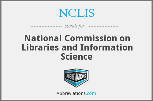 What does NCLIS stand for?
