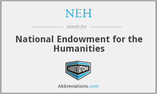 What does NEH stand for?