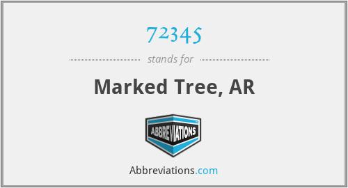 72345 - Marked Tree, AR