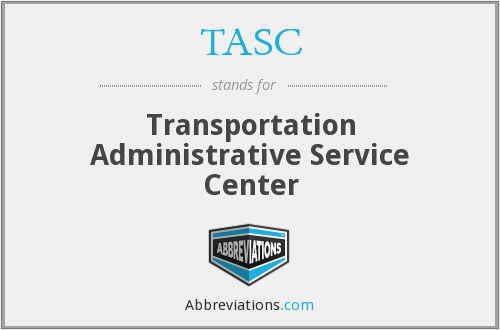 TASC - Transportation Administrative Service Center