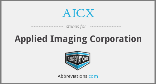 AICX - Applied Imaging Corporation