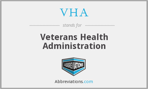 What does VHA stand for?