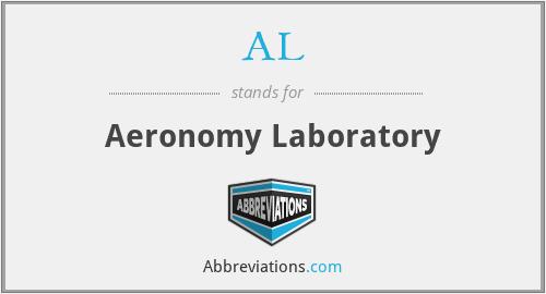 AL - Aeronomy Laboratory