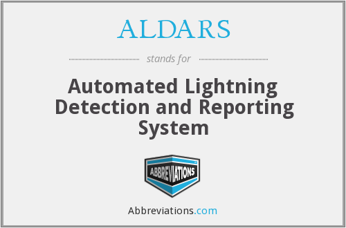 ALDARS - Automated Lightning Detection and Reporting System