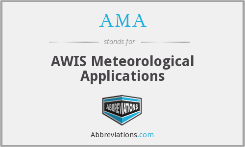 AMA - AWIS Meteorological Applications