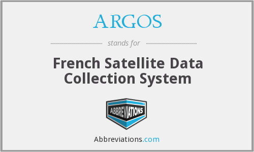 ARGOS - French Satellite Data Collection System