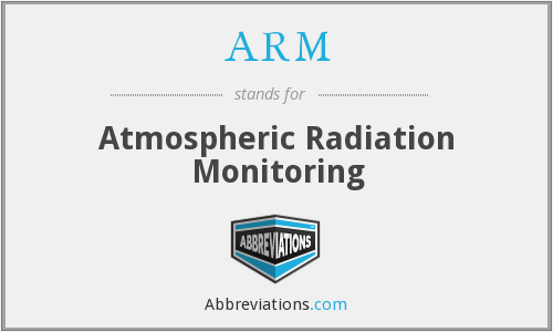 ARM - Atmospheric Radiation Monitoring