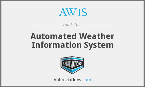 What does AWIS stand for?