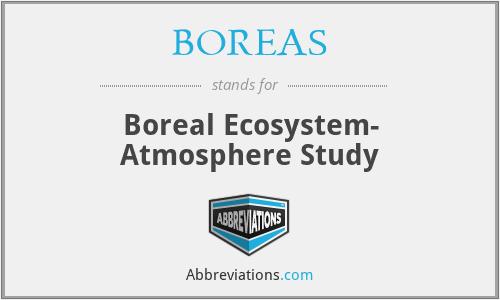 BOREAS - Boreal Ecosystem- Atmosphere Study