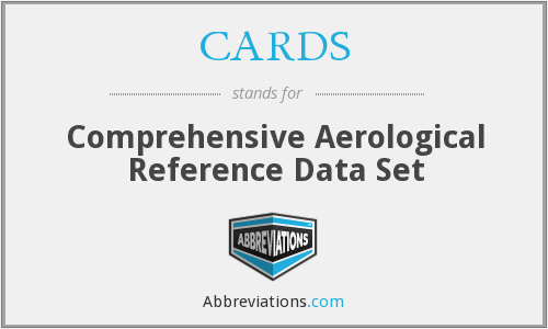 CARDS - Comprehensive Aerological Reference Data Set