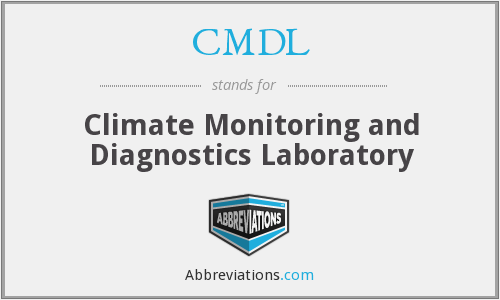 CMDL - Climate Monitoring and Diagnostics Laboratory