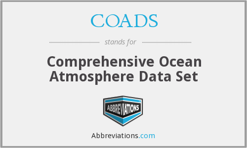 COADS - Comprehensive Ocean Atmosphere Data Set