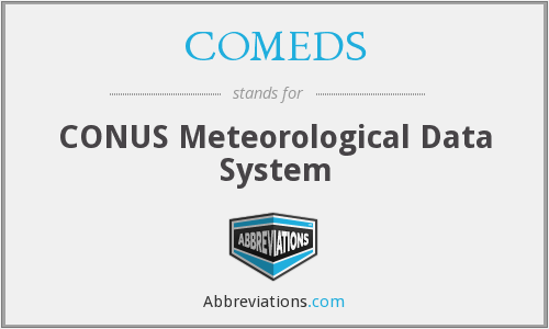 COMEDS - CONUS Meteorological Data System