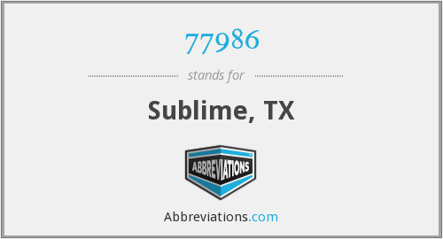 What does sublime stand for?