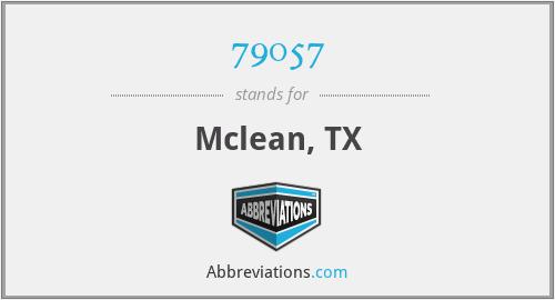 79057 - Mclean, TX