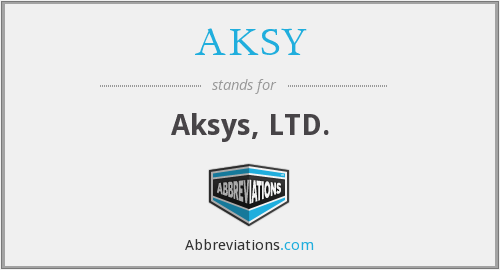 What does AKSY stand for?