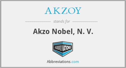 AKZOY - Akzo Nobel, N. V.