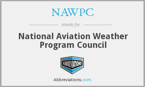 What does NAWPC stand for?