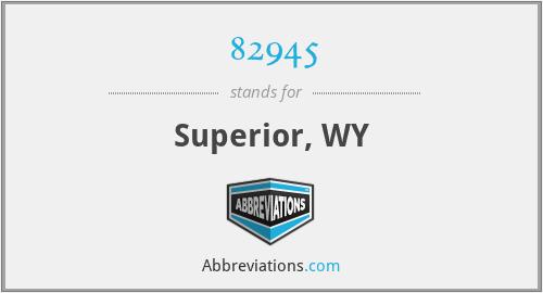 82945 - Superior, WY