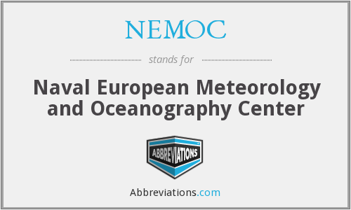 NEMOC - Naval European Meteorology and Oceanography Center