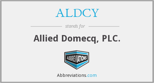 What does ALDCY stand for?