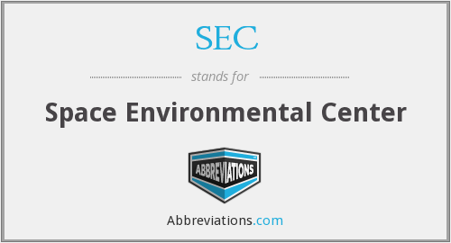 SEC - Space Environmental Center