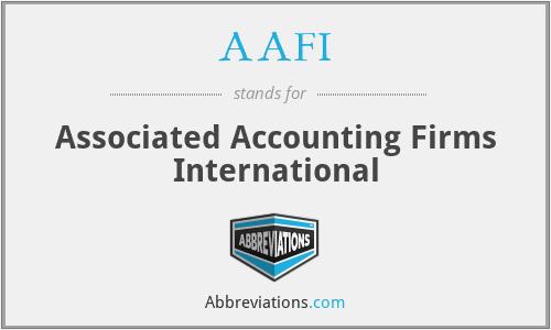 AAFI - Associated Accounting Firms International