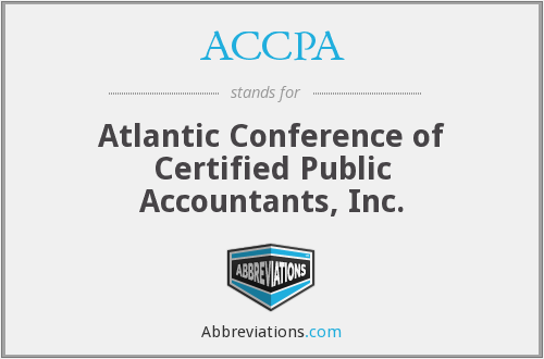 ACCPA - Atlantic Conference of Certified Public Accountants, Inc.