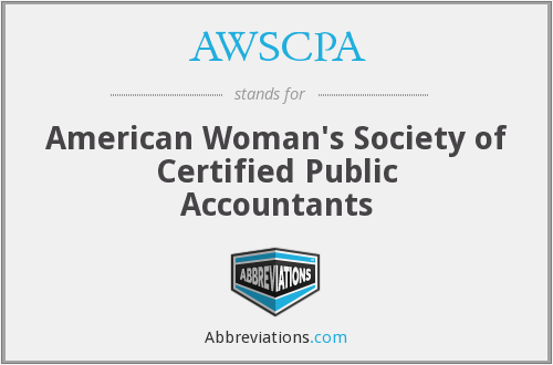 AWSCPA - American Woman's Society of Certified Public Accountants